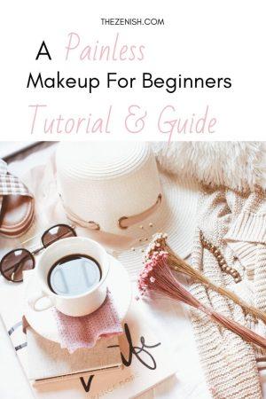 Makeup Guide for Beginners Pinterest Pin.