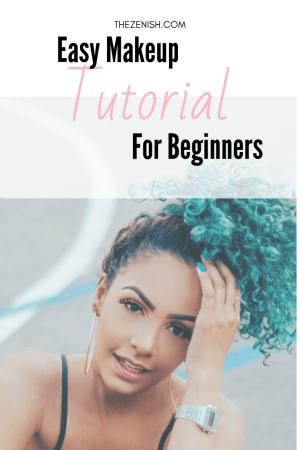 Makeup For Beginners Tutorial  Pinterest Pin