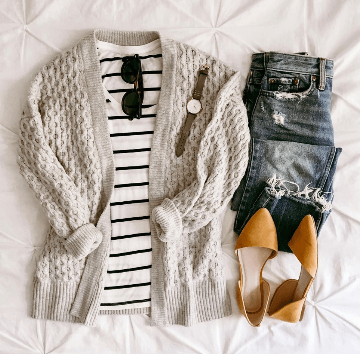 Cardigan Outfits Perfect For Fall and Winter! | thezenish.com