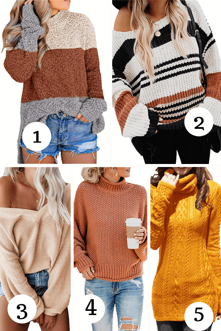 Chic and Stylish sweaters for fall and winter! | thezenish.com