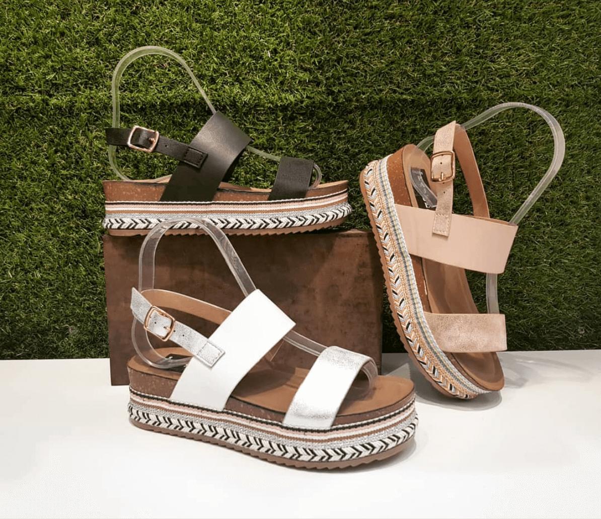 Platform sandals summer fashion trends