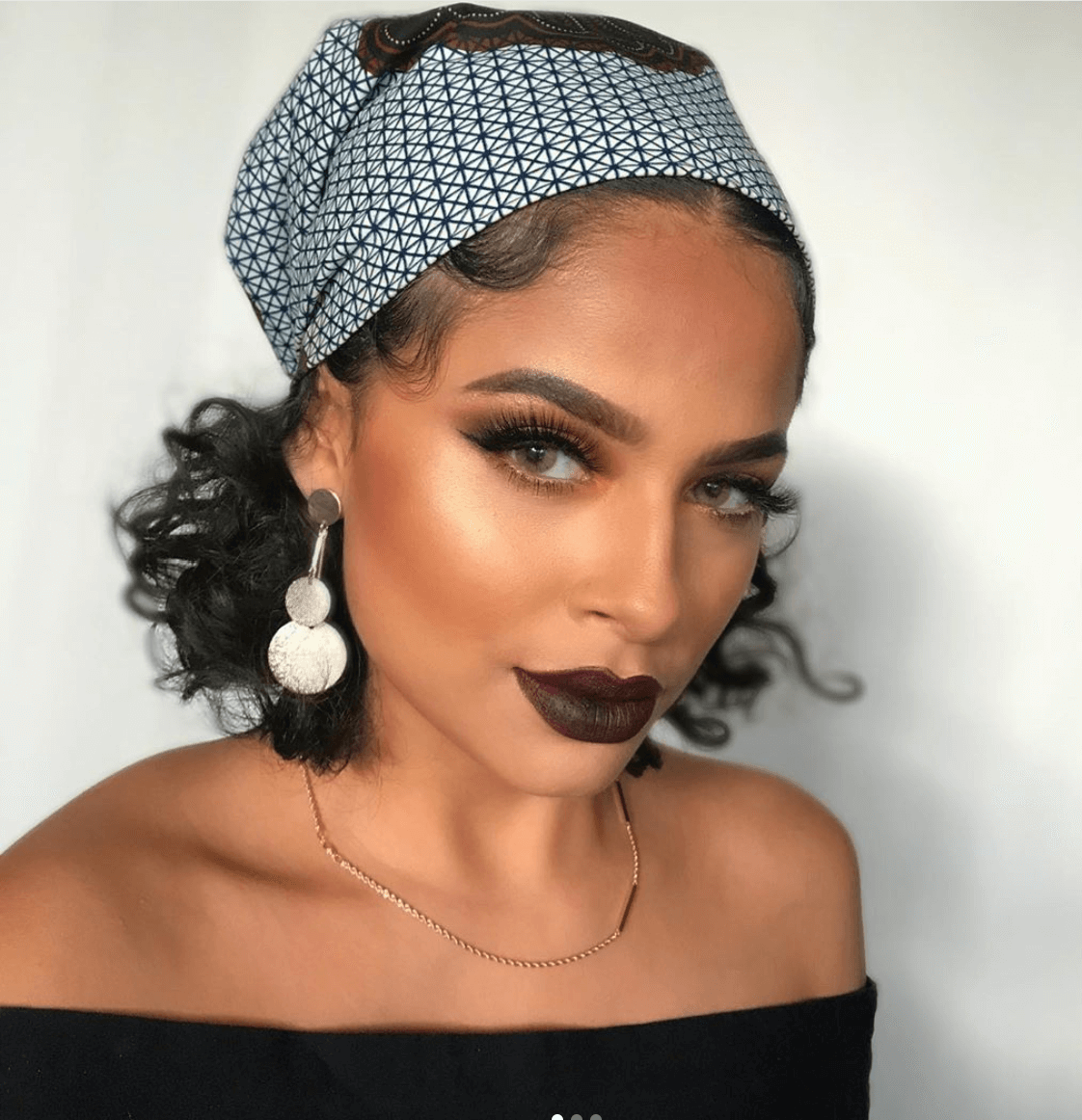 20 Beautiful Ways To Style Your Hair With A Scarf   The Zenish