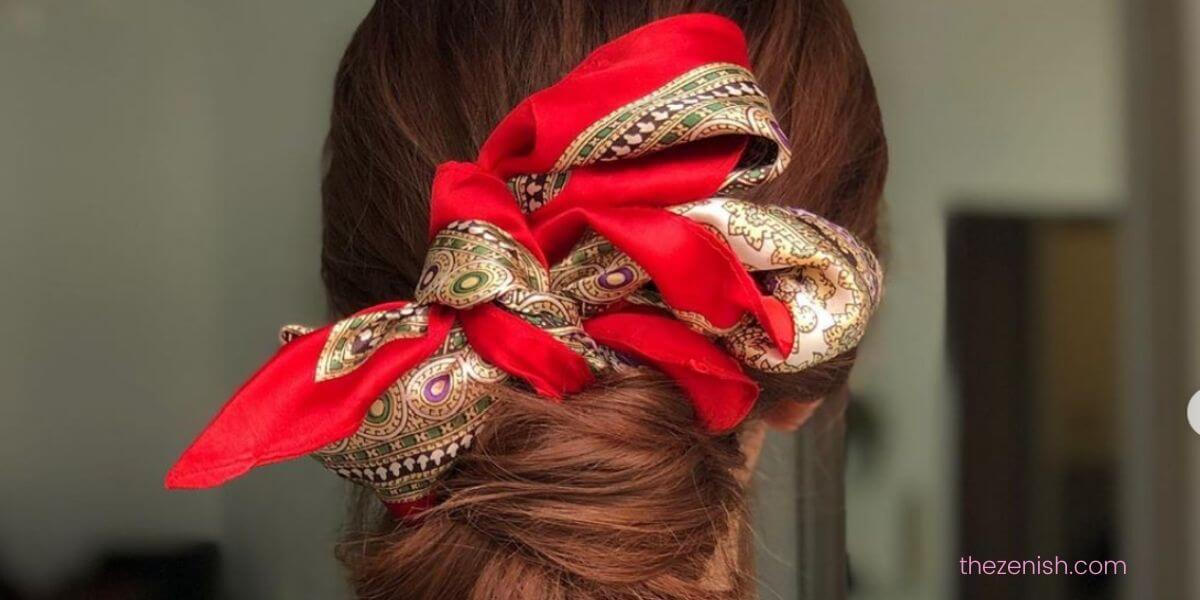 Cute hair scarf styles to change up your look - The Zenish