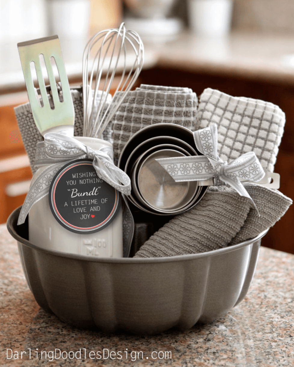Christmas gift basket ideas for mom