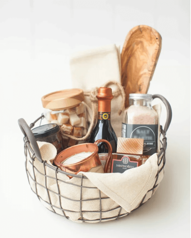 Christmas gift baskets ideas