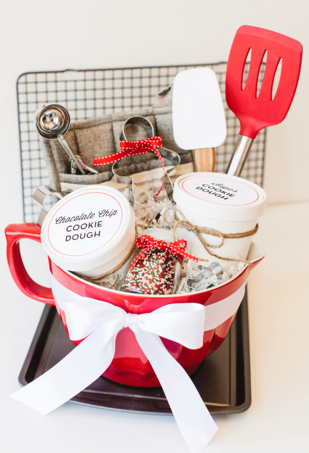 Christmas gift baskets for mom