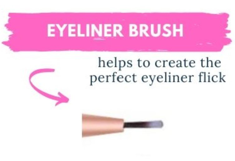 how to use an eyeliner brush