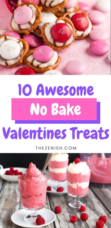 super easy three ingredient Valentine's treats