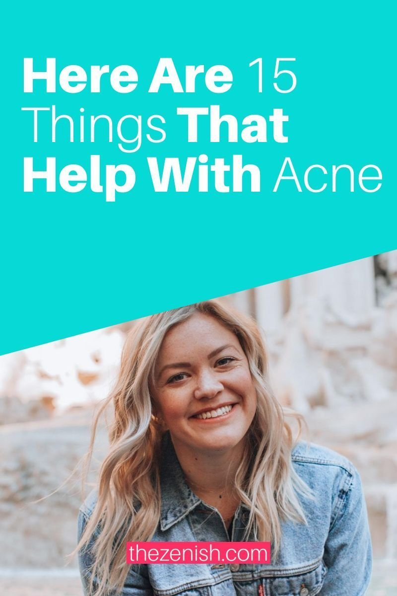 clear up acne fast