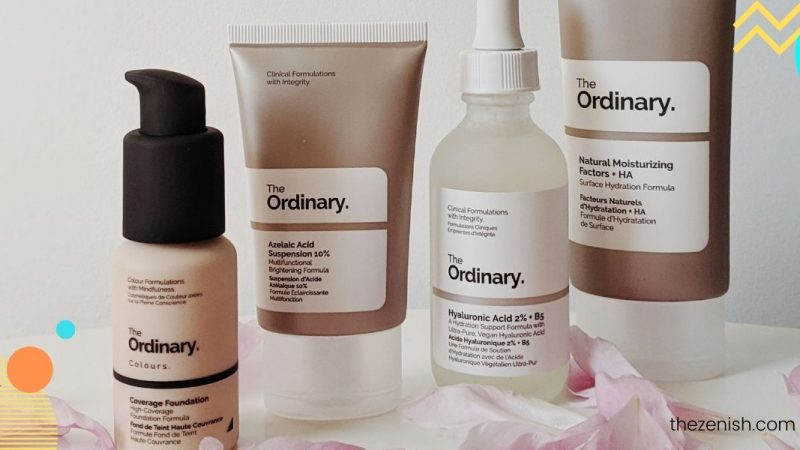 The Ordinary Skincare Routine For Acne