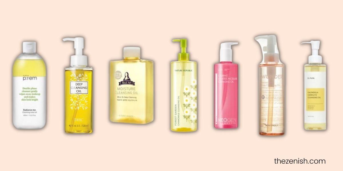 best Korean cleansing oil for acne-prone skin